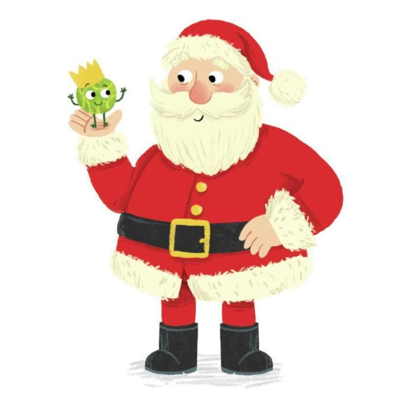 Santa Claus Sprouts
