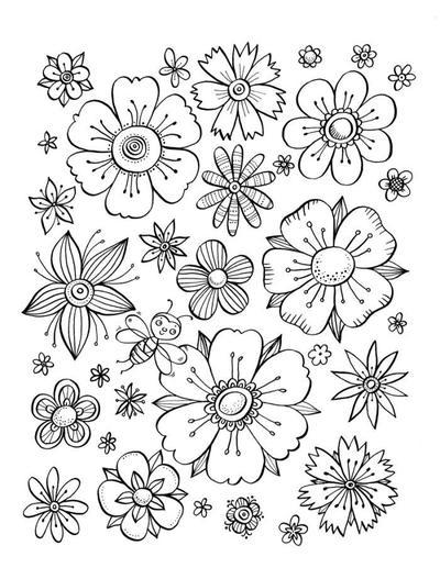 flower-pattern-with-bee-jpg