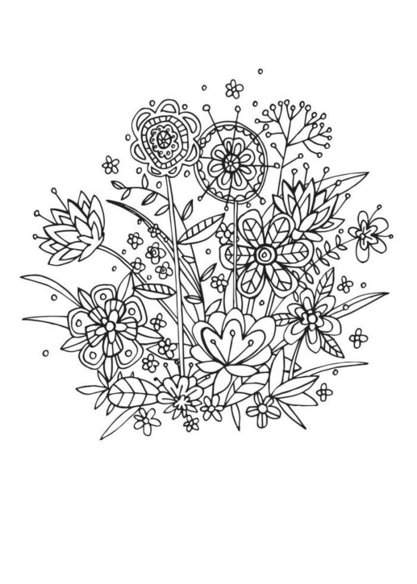 Floral Linework