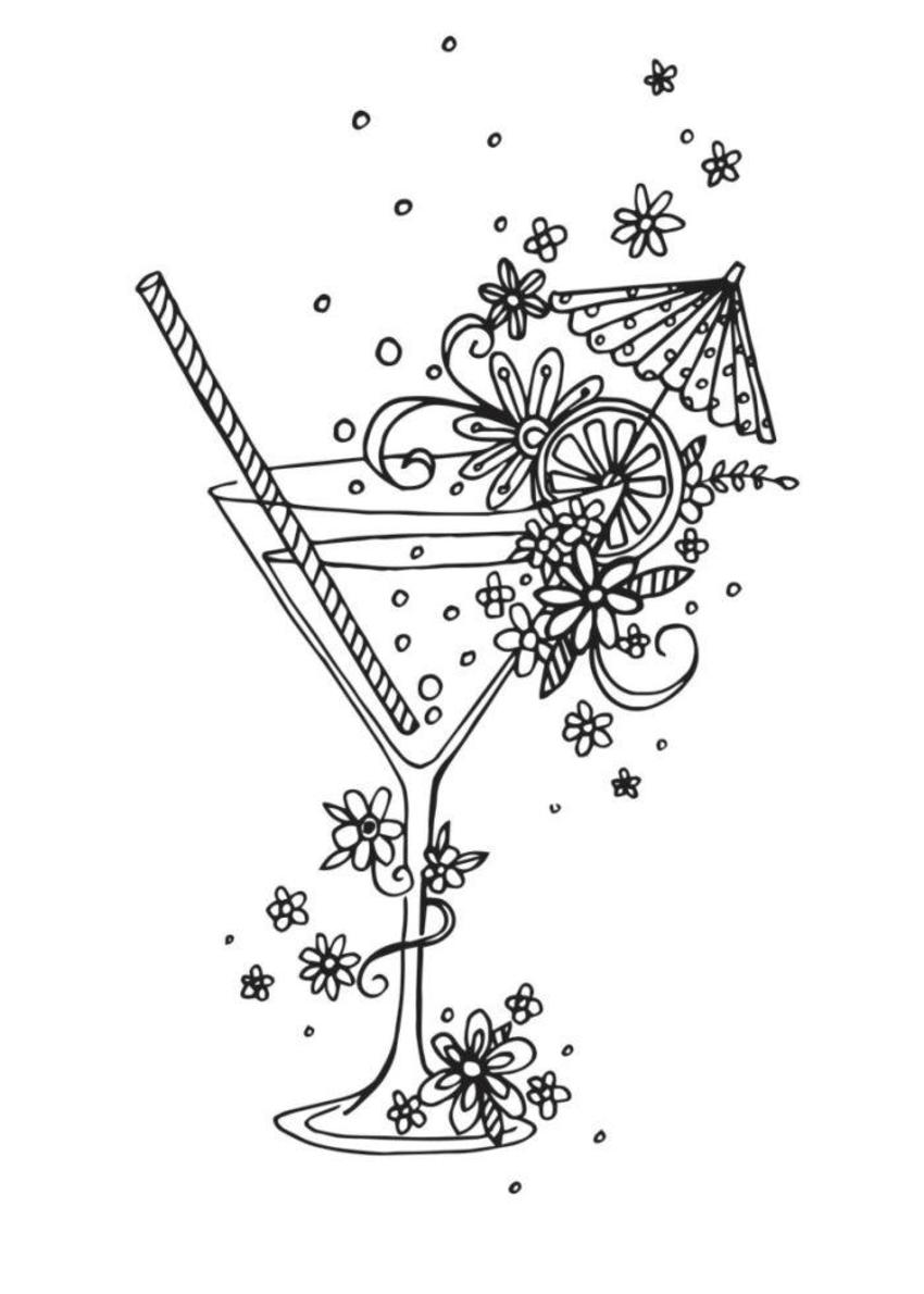 Cocktail Linework