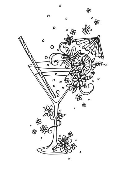 cocktail-linework