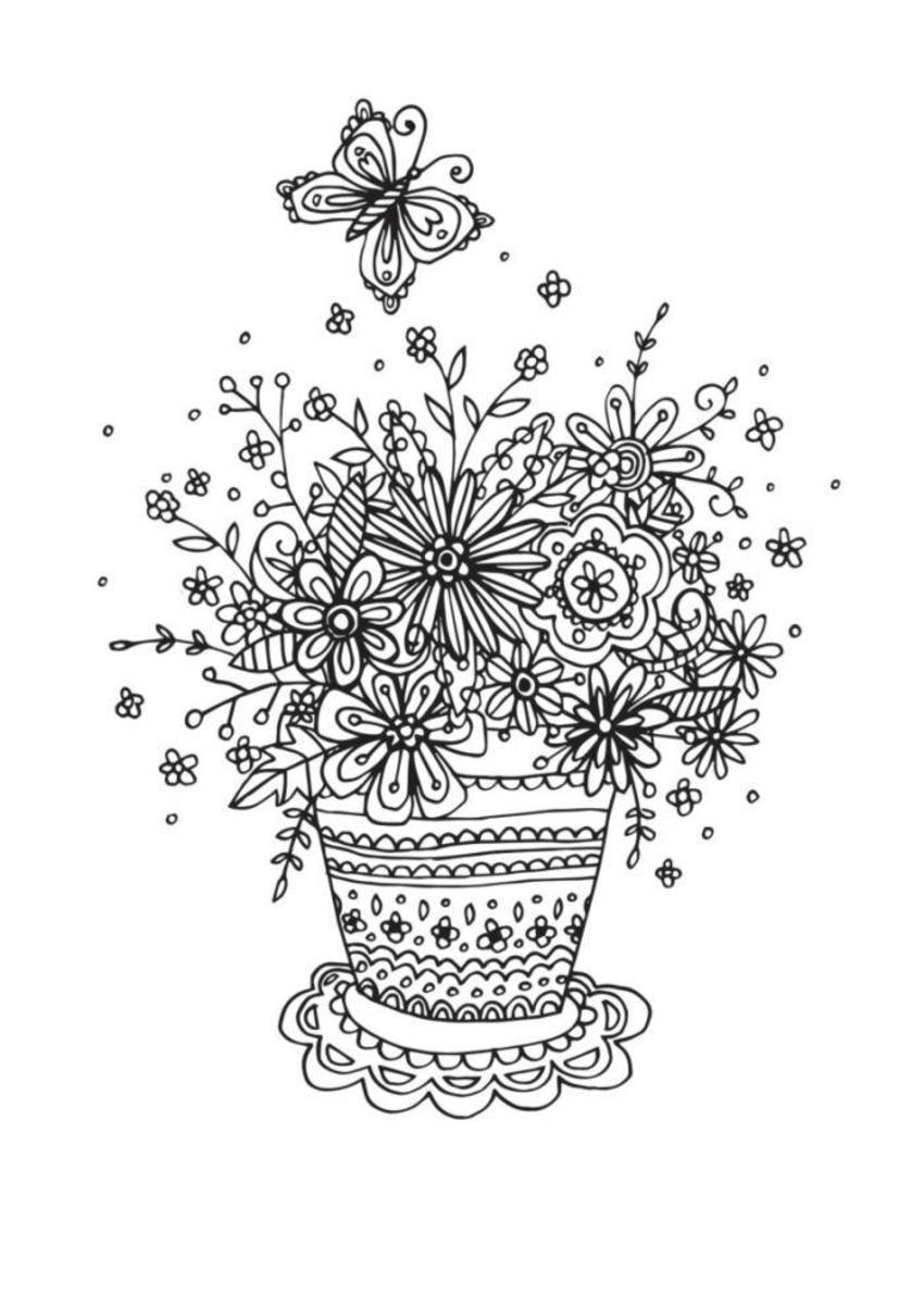 Flowerpot Linework