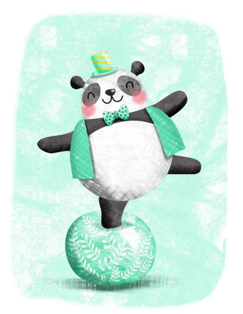 Circus - Panda On Ball - GM
