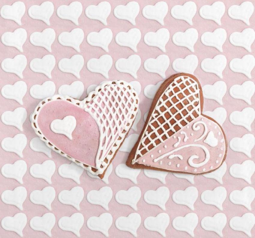 Greeting Card Sweet Hearts Napkins LMN41342-1