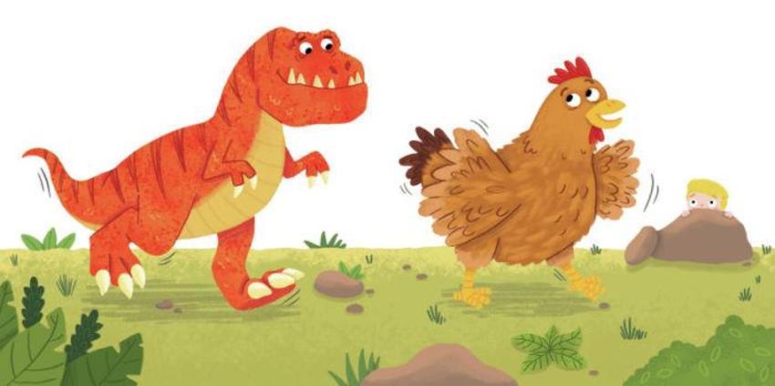 Dinosaur Stanley Chicken