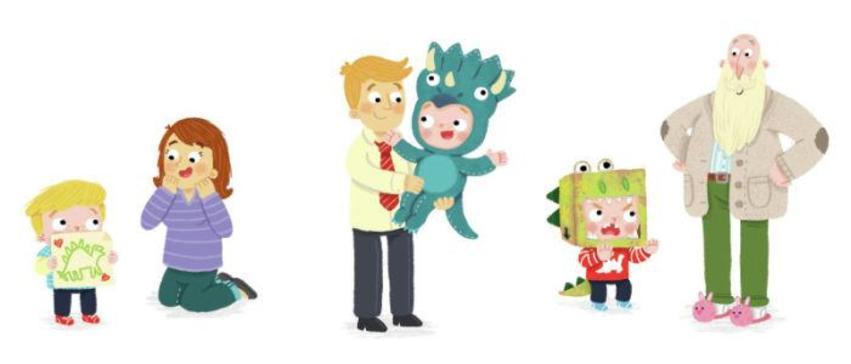 Dinosaur Stanley Family