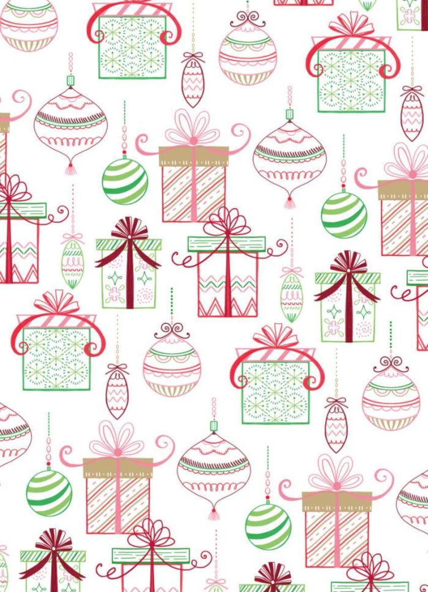 Gift Box Wrap Pattern