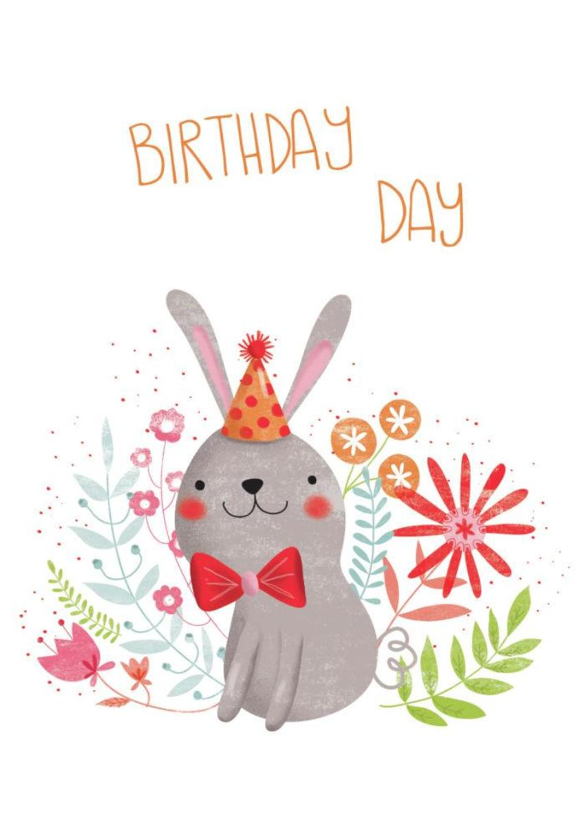 Flowery Bunny - Birthday Day - GM