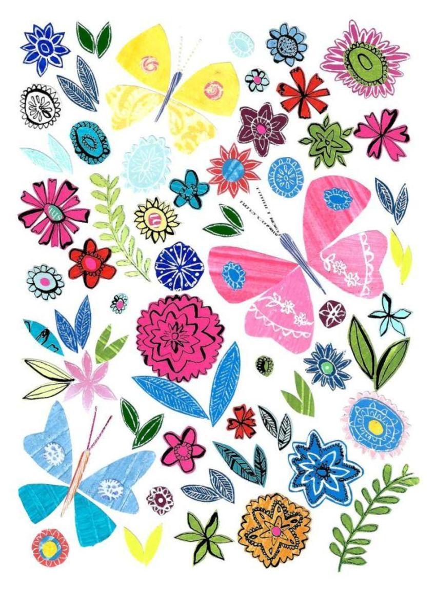 PT - New Folk Butterfly Art 2