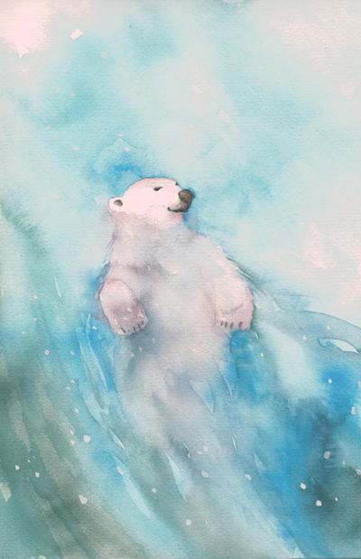 polar-bear-water