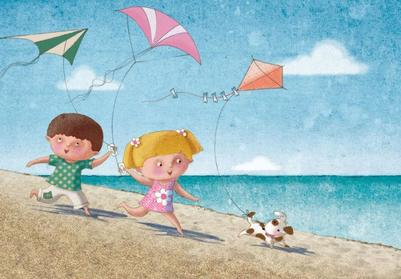 seaside-kite-flying