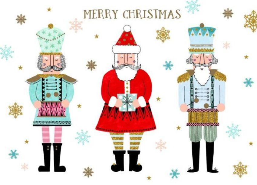Santa-and-the-nutcrackers