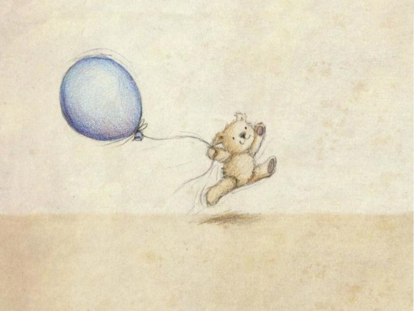 Little Teddy And Balloon