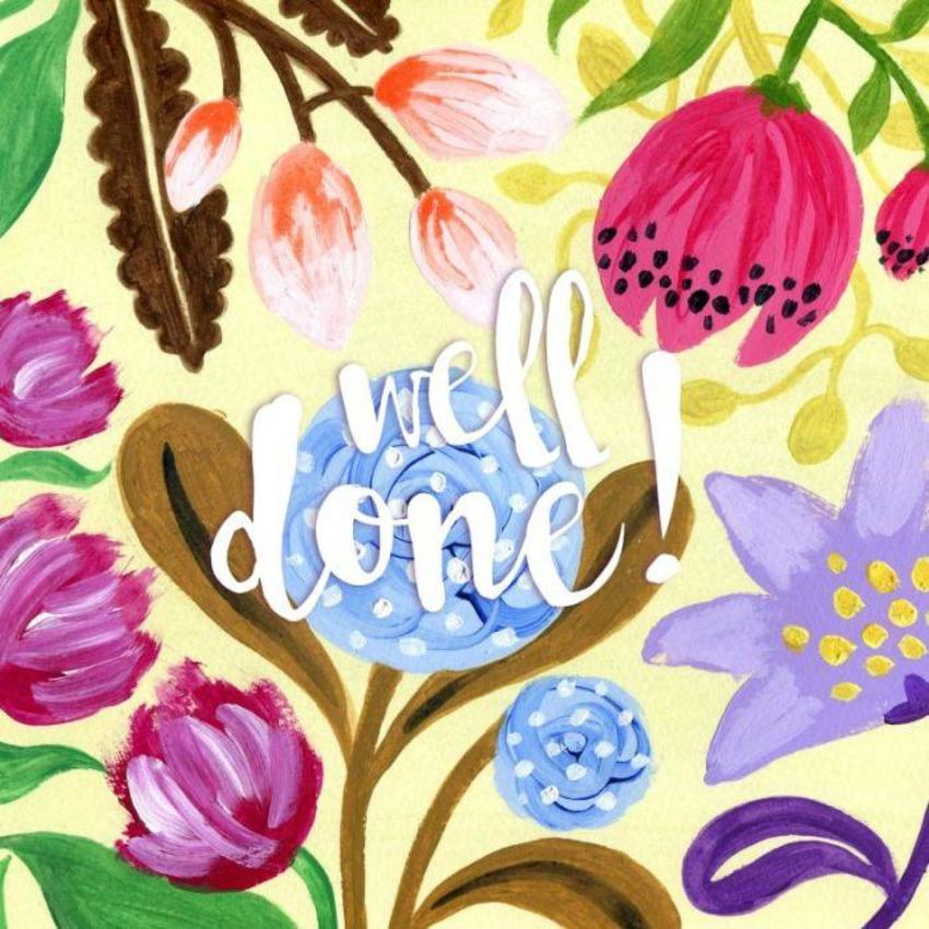 Floral Well Done!