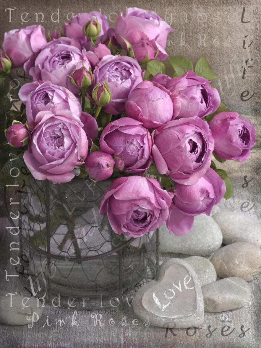 Greeting Card Roses LMN41150