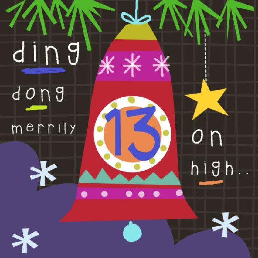 13 Jayne Schofield Christmas Bell Advent
