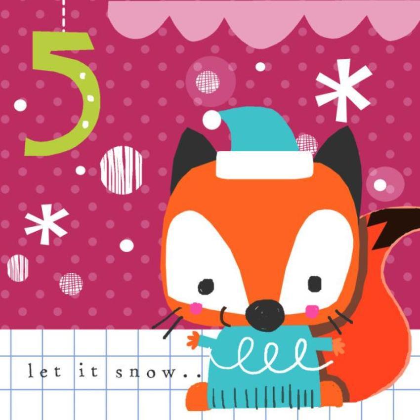 5jayne Schofield Christmas Fox Advent