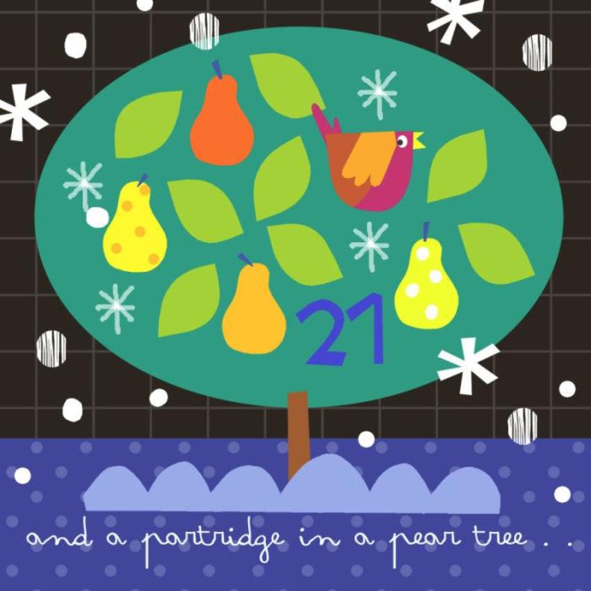 21 Jayne Schofield Partridge In A Pear Tree Advent