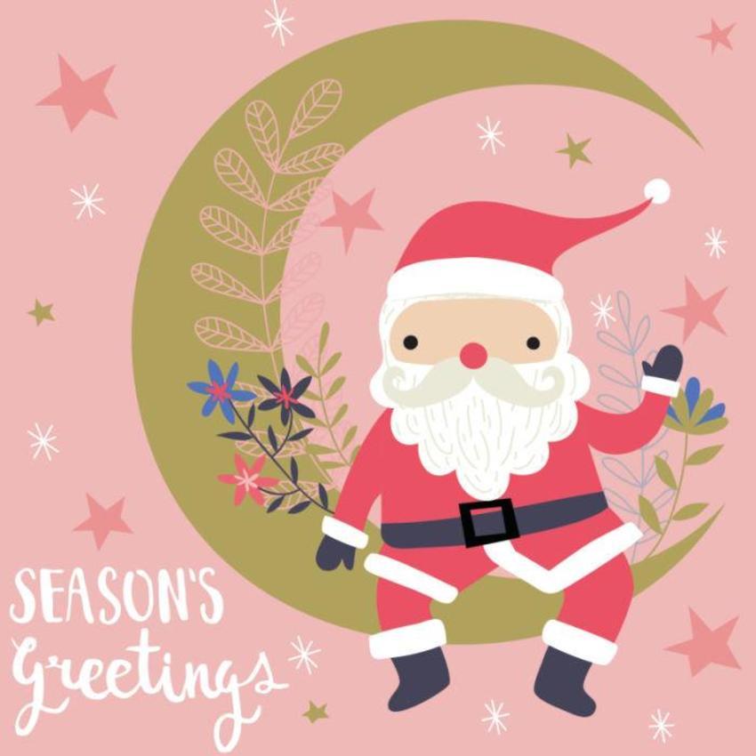Christmas Card - GM_Santa
