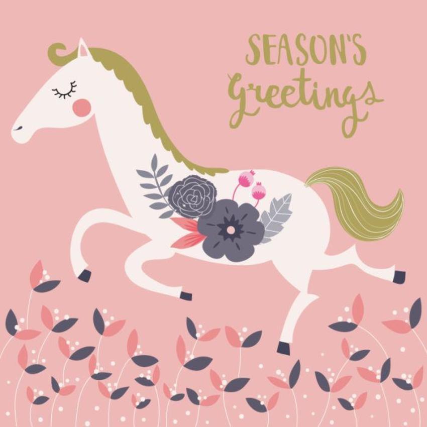 Christmas Card - GM_Horse
