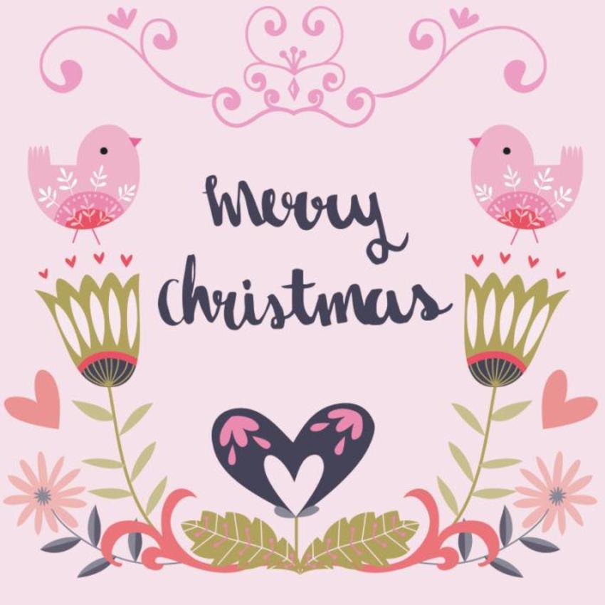 Christmas Card - GM_Mirrored Birds