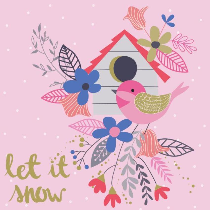 Christmas Card - GM_Bird House