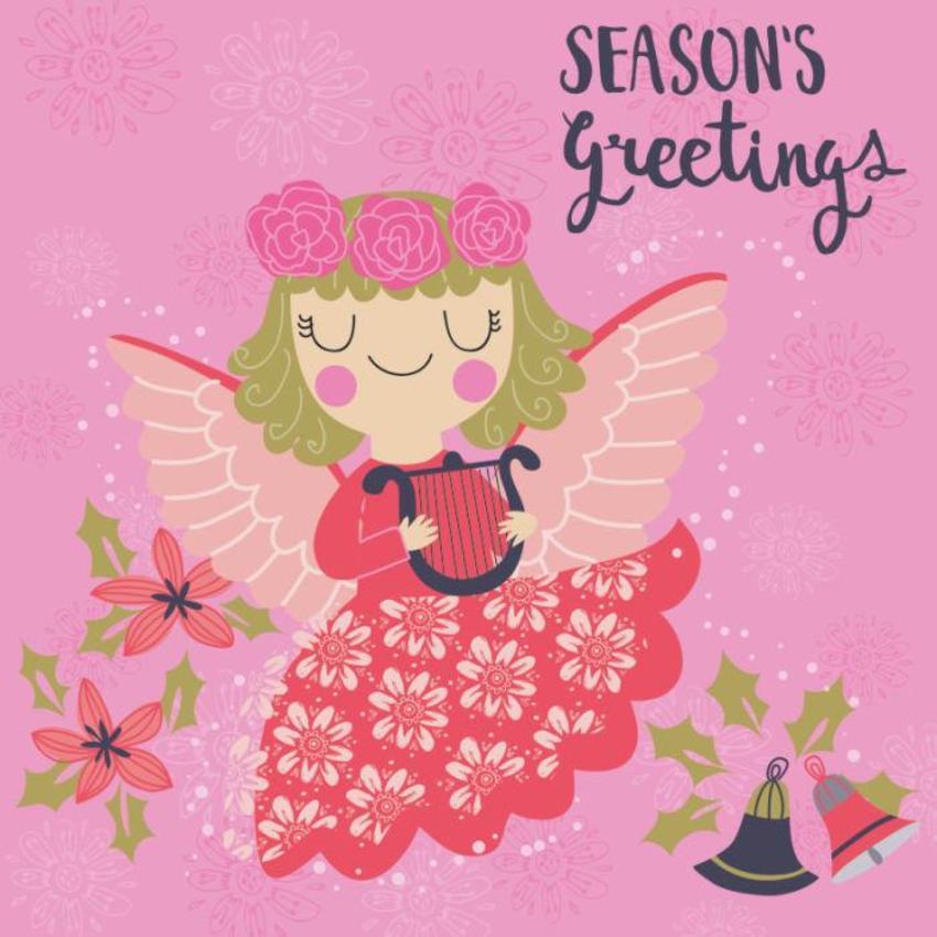 Christmas Card - GM_Angel