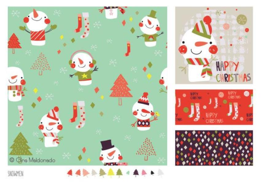 Snowmen Pattern - GM-04