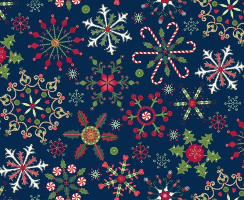 477 Christmas Snowflakes