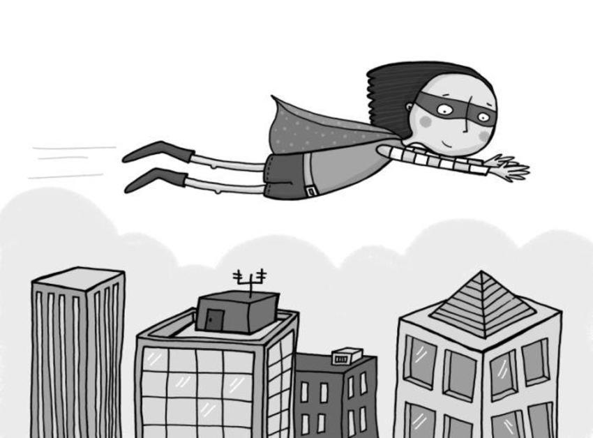 FlyingSuperGirl
