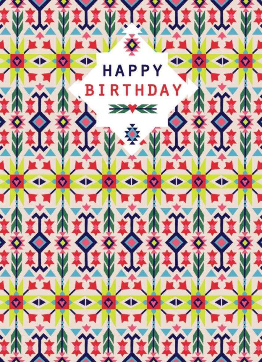Navajo Birthday