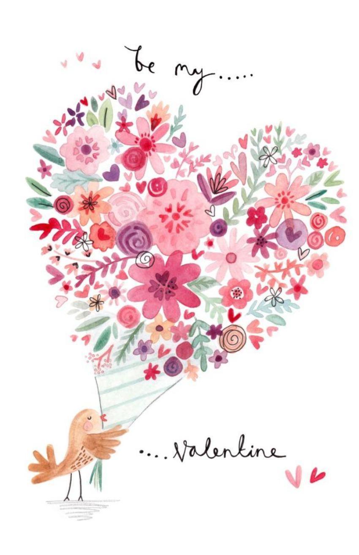 FF Bird And Heart Bouquet
