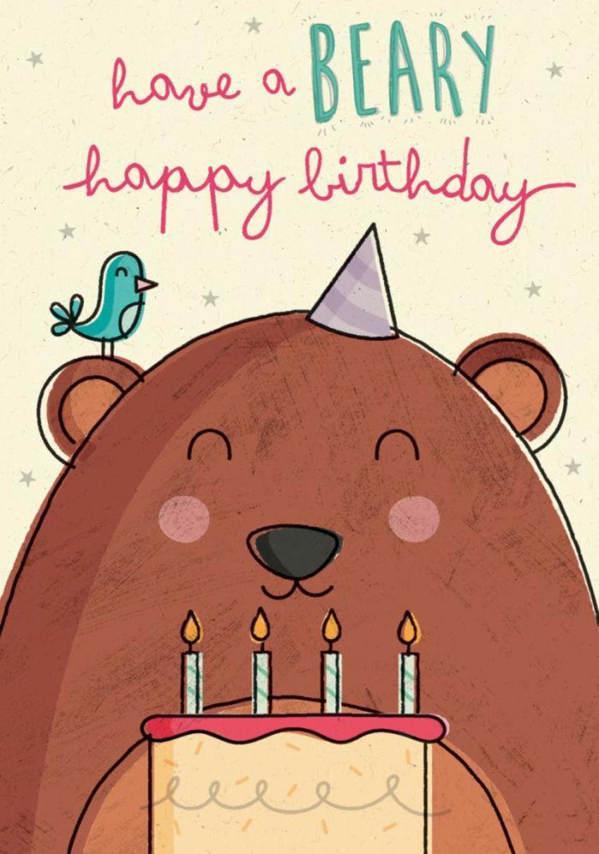Bear And Cake