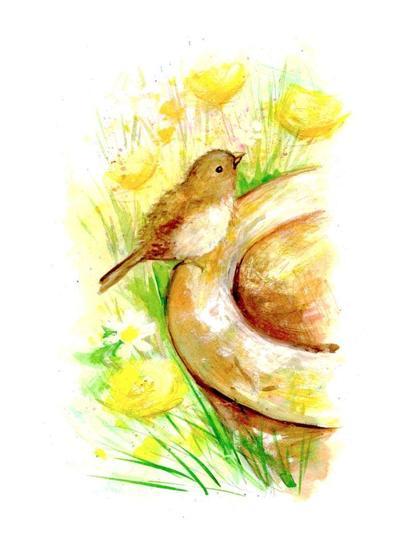 watercolour-birds-sparrow-on-pot-card-design