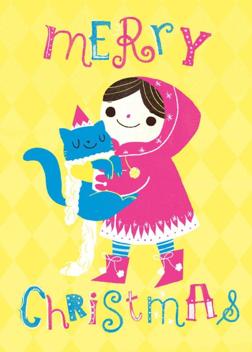 Giovana_christmas_girl_cat_1
