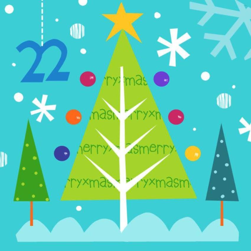 22. J Schof Xmas Tree Advent