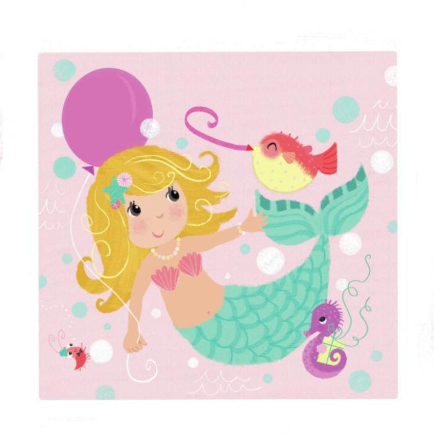Mermaid Design Melanie Mitchell Birthday