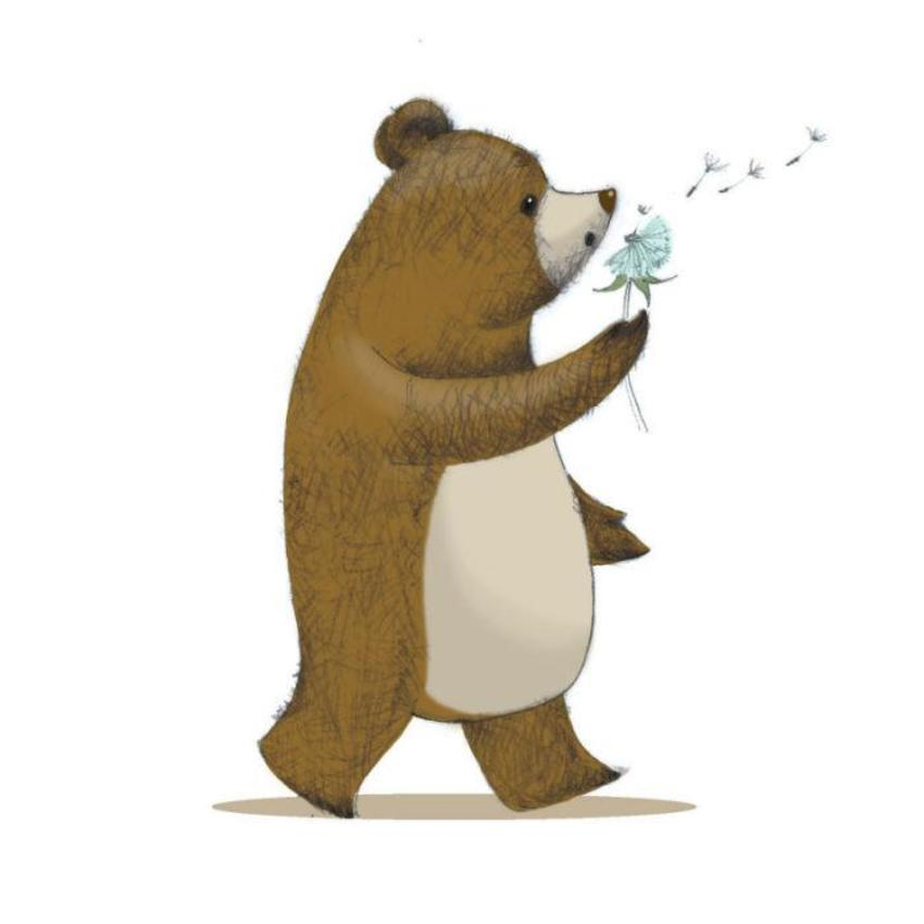 Bear and dandelion.jpg