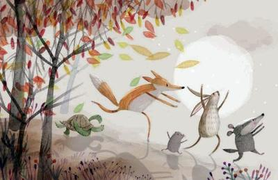 animal-characters-running