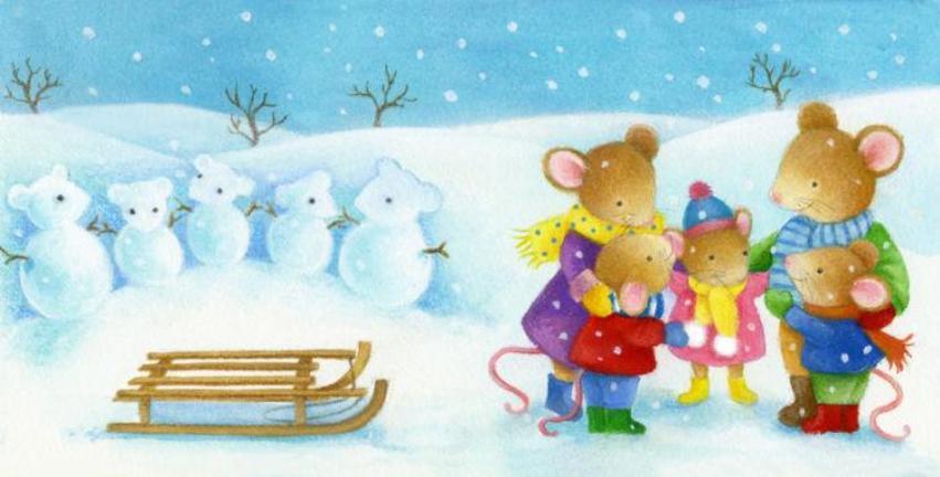 Snow Mice