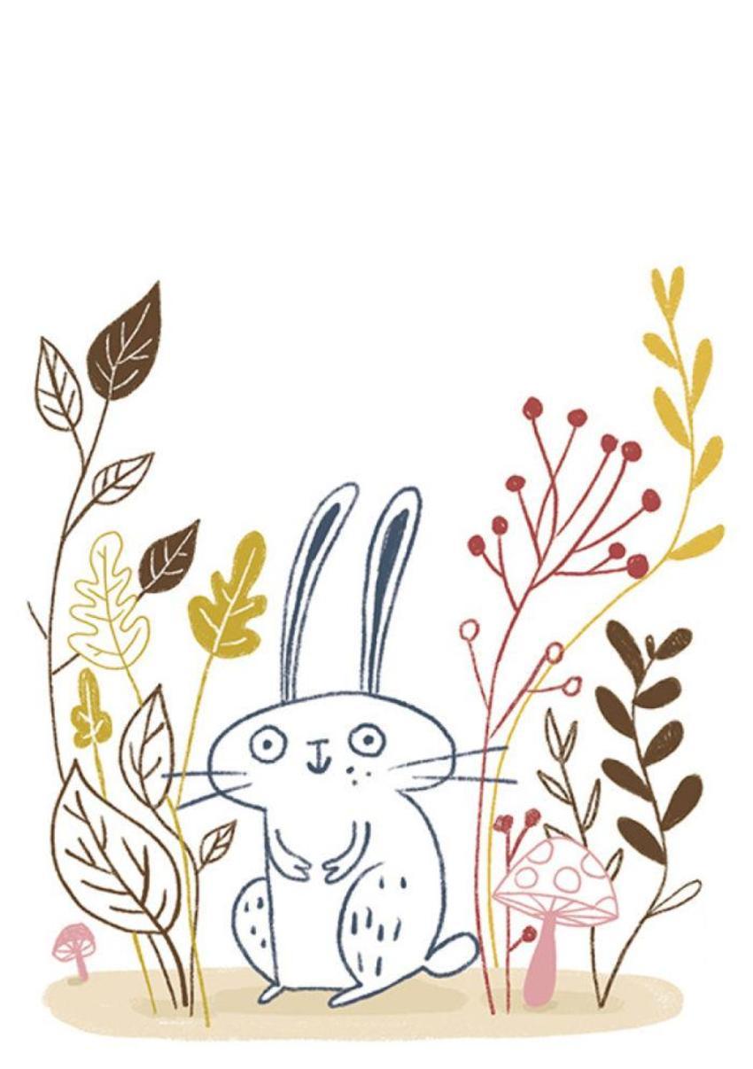 Rabbit Line Bunny Plants