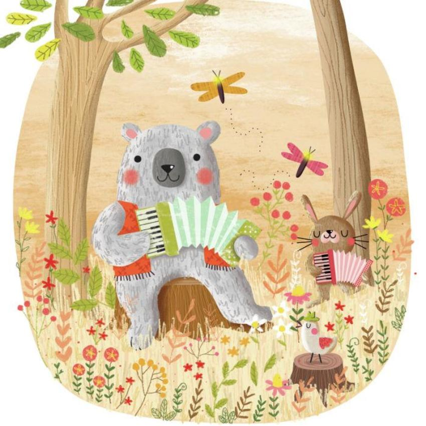 Animals Playing The Accordion