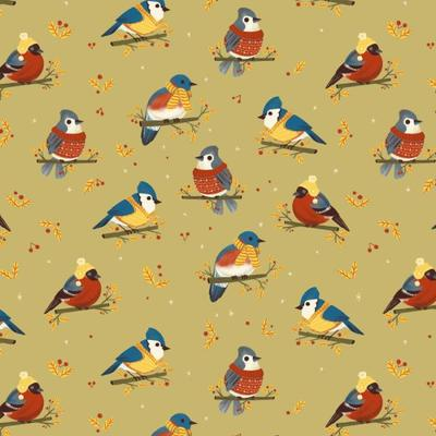 winterbirds-pattern-available
