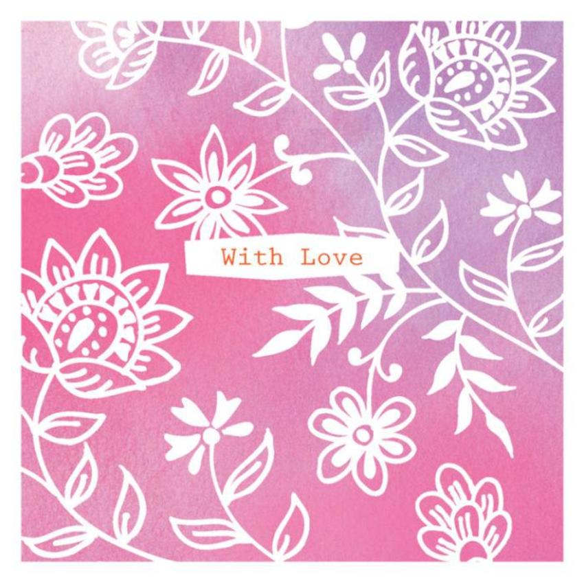 Love Thank You Mothers Day Thinking Of You Get Well With Love Female Birthday Flowers Floral Background Contemporary