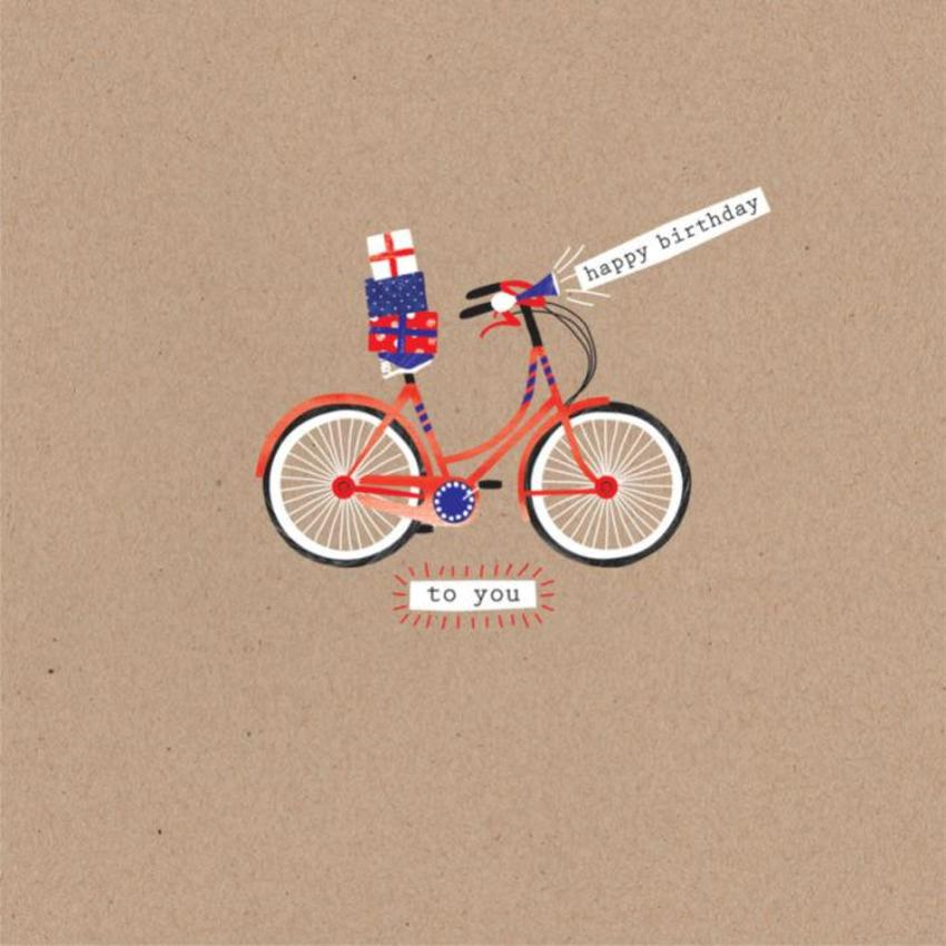 Male Birthday Fathers Day Bike With Presents