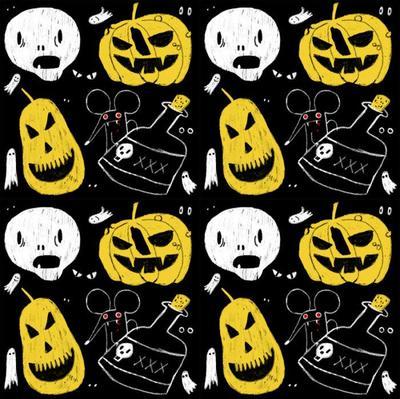 halloween-pumpking-skull-gosth-mouse-eyes-poison-spooky-terror-pattern