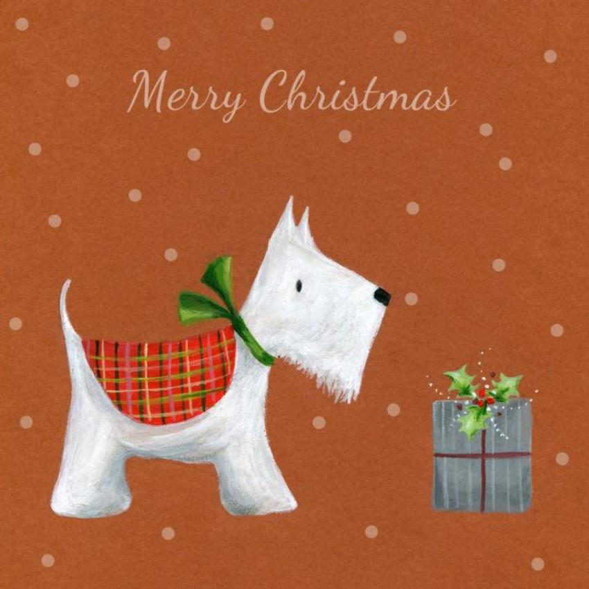 Ileana Oakley Christmas Scotty Dog