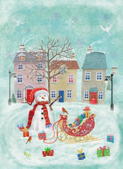 xmas-village-green-oct-2013-licence-for-napkins-worldwide-3-years-plus-july-2013-greeting-cards-benelux-3-years-jpg