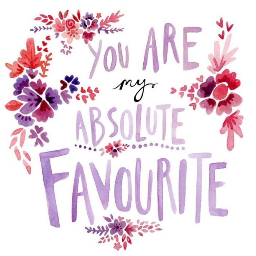 FF You Are My Favourite