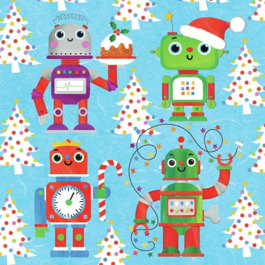 XMAS ROBOTS CARD